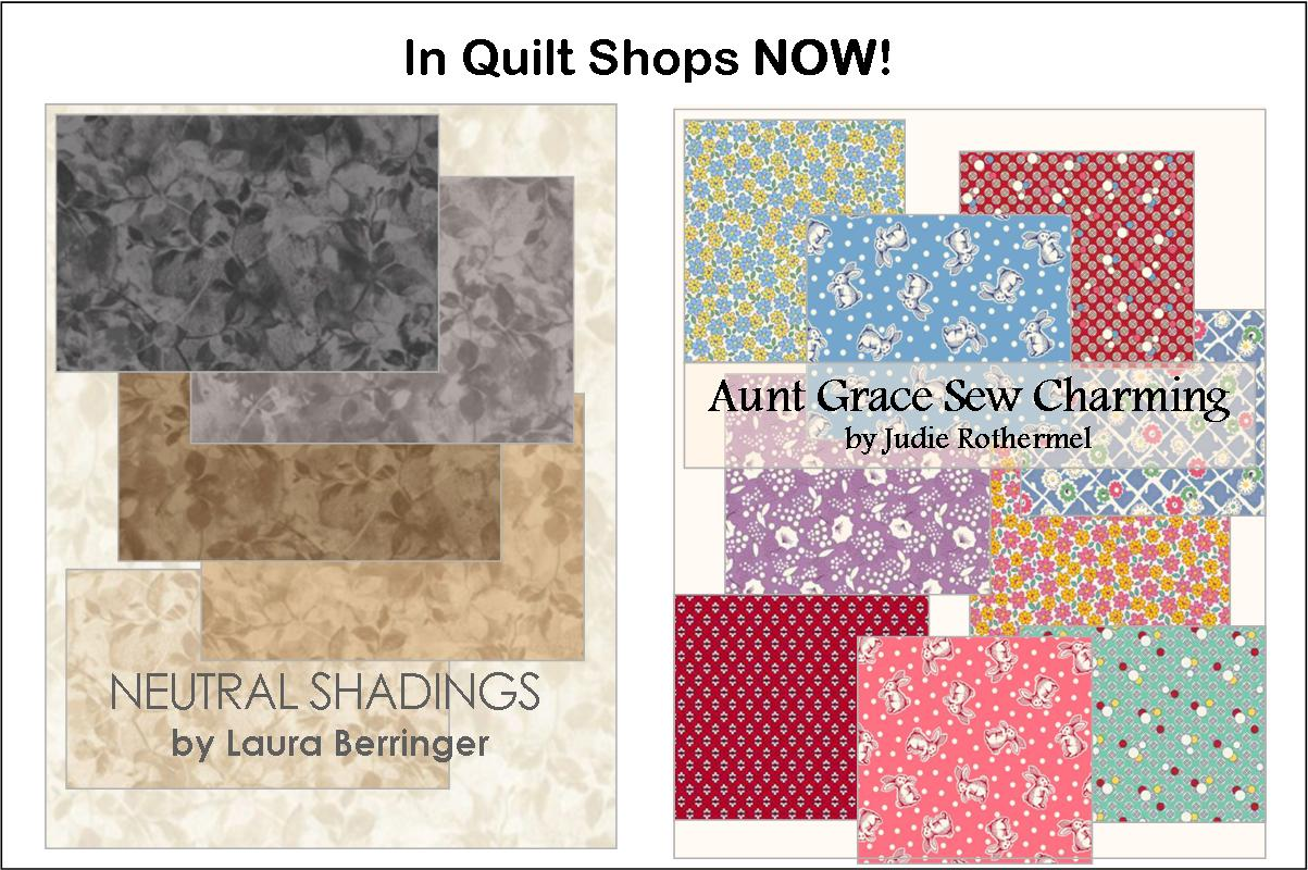 In Quilt Shops Now - Oct 2021